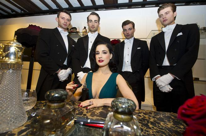 Dita Von Teese Talks Perfume And Collection Teacups: EXCLUSIVE INTERVIEW