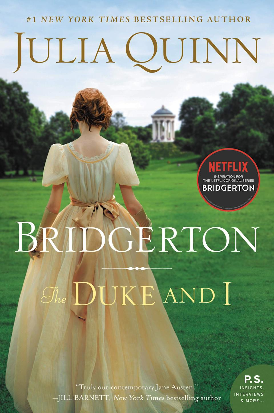 The Duke and I: Bridgerton. Image via Amazon.