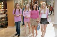 "<p>While Cady Heron, Regina George, and Karen Smith all wear their hair straight - which was the popular style in the early 2000s - Gretchen stands out with her big, curly hair. Turns out, that detail was written into the script: ""Gretchen's hair, being so big and full of secrets, it became such a trademark and of the character,"" Chabert said. </p> <p>In order to get the look just right, Chabert spent a lot of time sitting in her hairstylist's chair, where a combination of backcombing, lots of hairspray, and curlers were used. ""At the time, I had very straight hair - I was obsessed with flat ironing it as pin straight as possible,"" she said. ""So this was really fun for me because it was a real departure from how I wore my hair in real life.""</p> <p>Little did she know that curly hair would be so on trend a decade and a half later: ""Now I'm obsessed with big, curly hair and volume,"" she said. ""I make a great effort to make my hair look like that now.""</p>"