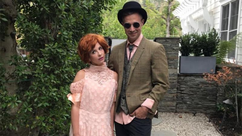 Sarah Michelle Gellar and Freddie Prinze Jr. Go Full 'Pretty in Pink' in These Perfect '80s Costumes: Pics!
