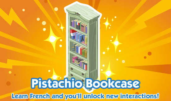 The Sims Social French Bookcase