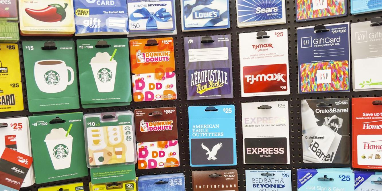 Why You Should Never Throw Out Empty Gift Cards
