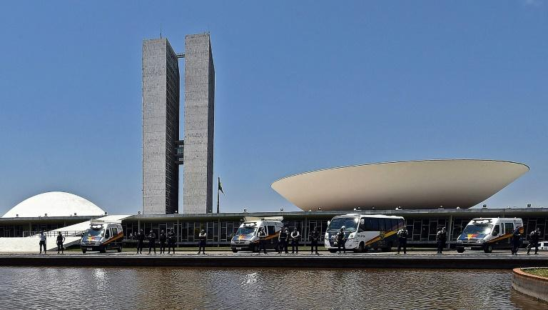 There are several proposals for streamlining Brazil's tax system, one of the world's most complicated and time-consuming, but it will not be easy to get one through Congress (pictured October 2015)