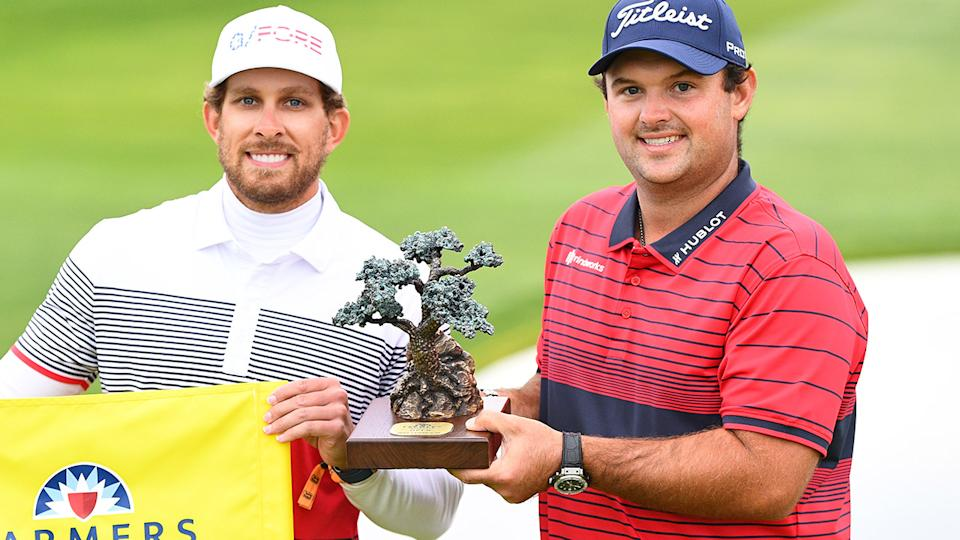 Patrick Reed, pictured here after winning the Farmers Insurance Open.
