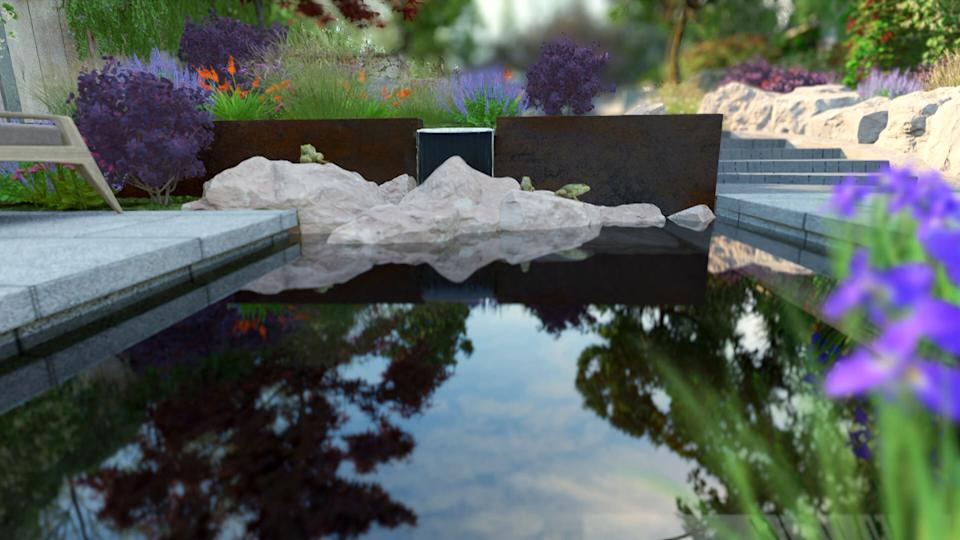 WARNING: Embargoed for publication until 00:00:01 on 26/01/2021 - Programme Name: Your Garden Made Perfect - TX: n/a - Episode: Your Garden Made Perfect - Generics (No. Generics) - Picture Shows: GFX still of garden    **STRICTLY EMBARGOED NOT FOR PUBLICATION BEFORE 00:01 HRS ON TUESDAY 26TH JANUARY 2021**  - (C) Remarkable TV - Photographer: Fluid Pictures