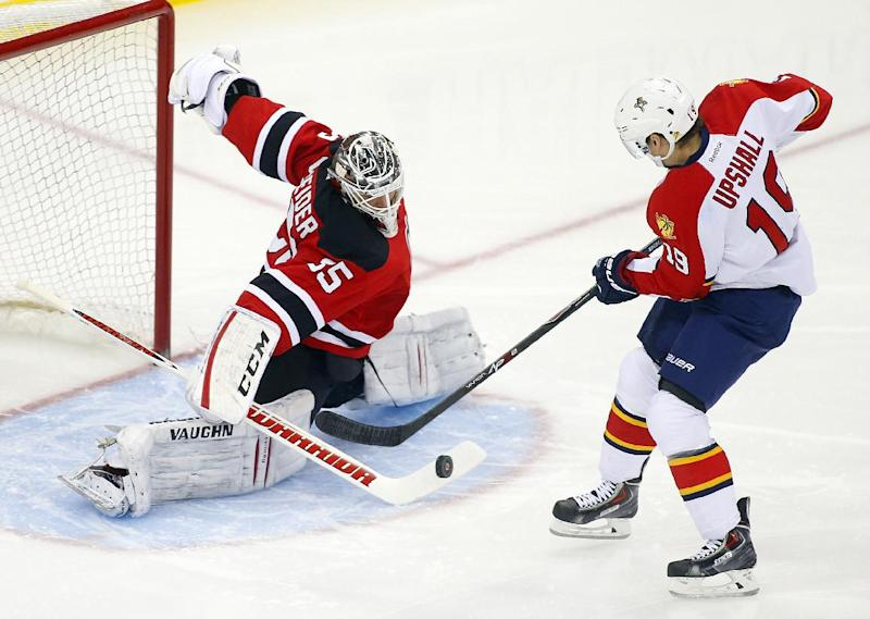 Zidlicky's OT goal gives Devils win over Panthers