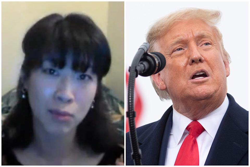 Hau-Yu Tam: Trump 'emboldens racists' worldwide.