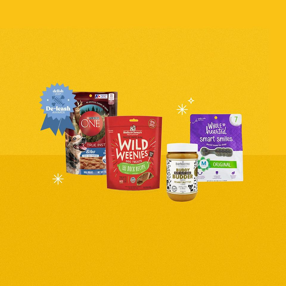 <p>We all need a good snack now and then, whether it's because we have been working hard toward a goal or because we're just really damn hungry. Your pet is no exception. This list is filled with treats that are good for their teeth, their training progress, and so much more. </p>