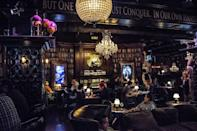 """<p><em>New York, NY</em></p><p>At the<a href=""""https://www.jekyllandhydeclub.com"""" rel=""""nofollow noopener"""" target=""""_blank"""" data-ylk=""""slk:Jekyll & Hyde Club"""" class=""""link rapid-noclick-resp""""> Jekyll & Hyde Club</a> in Greenwich Village, paintings come alive, bookshelves move to reveal hidden passageways, and live entertainment is around every coffin, er, corner. The haunted bar and restaurant is full of eerie delights.</p><p>Photo: Yelp/<a href=""""https://www.yelp.com/biz_photos/jekyll-and-hyde-new-york?select=rUrZcRzaWTSLZrh9XkEbfQ"""" rel=""""nofollow noopener"""" target=""""_blank"""" data-ylk=""""slk:Rob W."""" class=""""link rapid-noclick-resp"""">Rob W.</a></p>"""