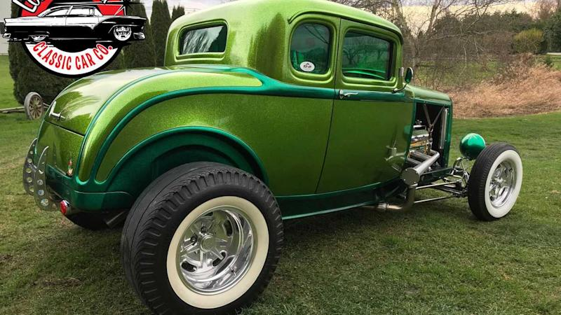 1932 Ford 5 Window Coupe Is A Stunning Show Car