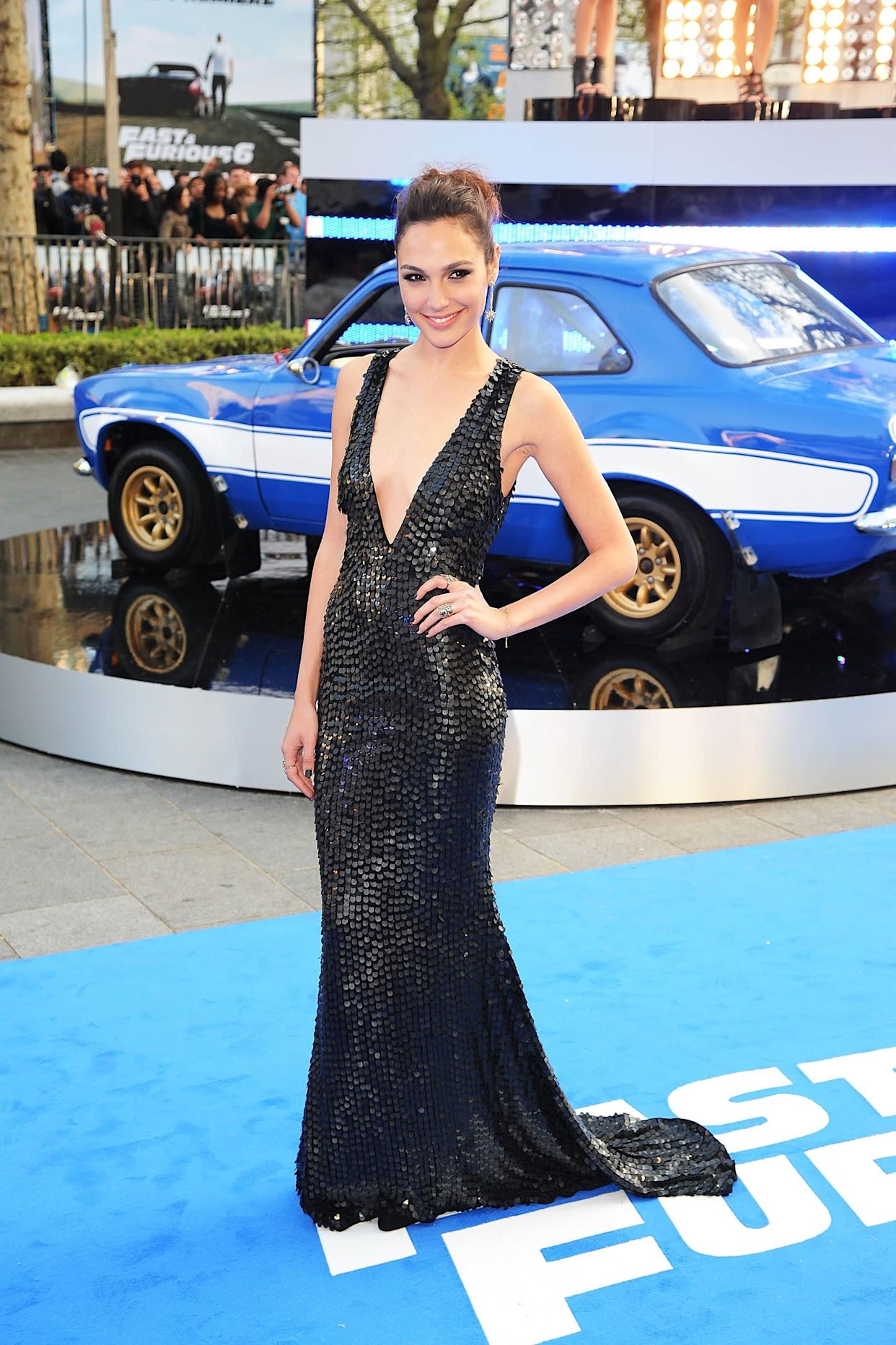 "At  the World Premiere of ""Fast & Furious 6."""
