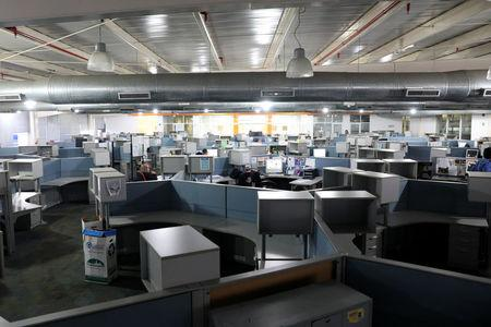 A general view of the newsroom of El Nacional newspaper in Caracas, Venezuela June 14, 2018. REUTERS/Adriana Loureiro/Files