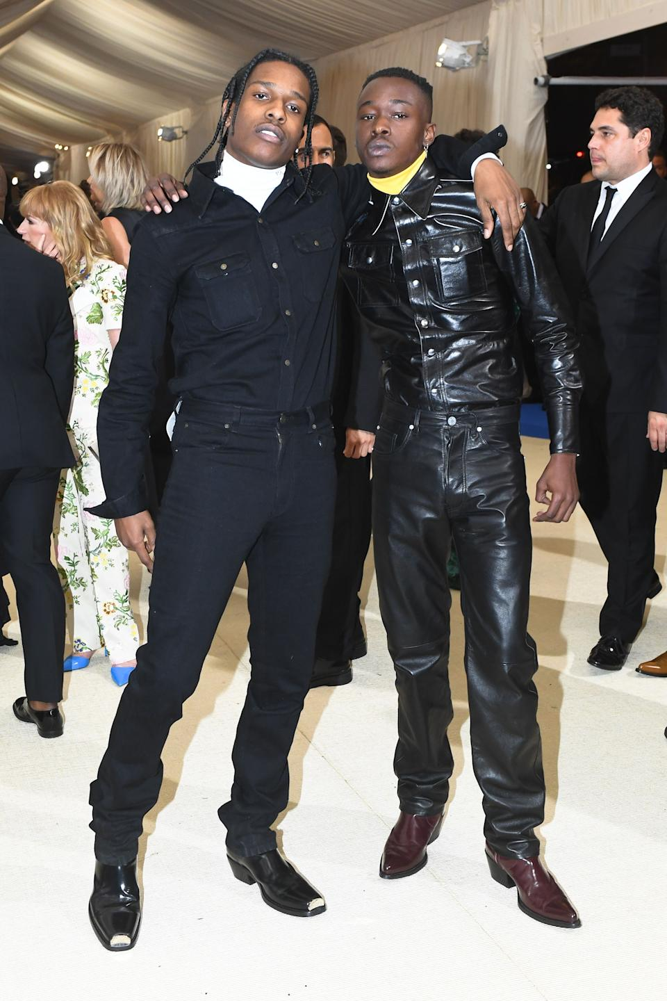 """<h1 class=""""title"""">A$AP Rocky and Ashton Sanders in Calvin Klein by Appointment</h1><cite class=""""credit"""">Photo: BFA/Shutterstock</cite>"""
