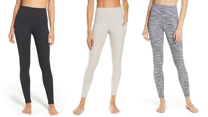 These affordable leggings are even better when they're on sale.