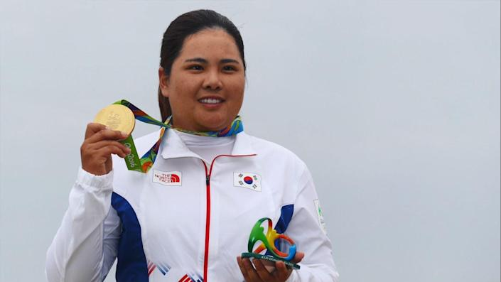 Park going for second gold medal at Tokyo Olympics