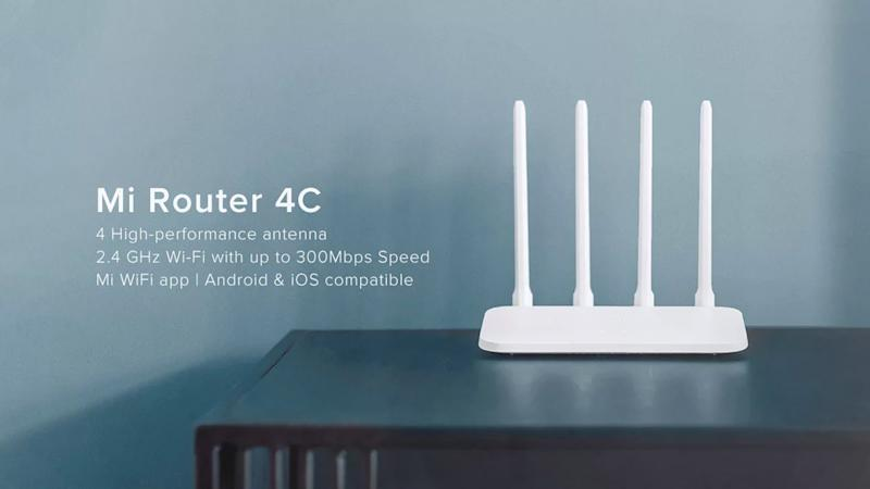 Xiaomi launches Mi Router 4C with four omni-directional antennae in India at Rs 999