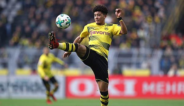 Bundesliga: BVB-Talent Sancho nach Tunnel gegen Kapitäne gerüffelt