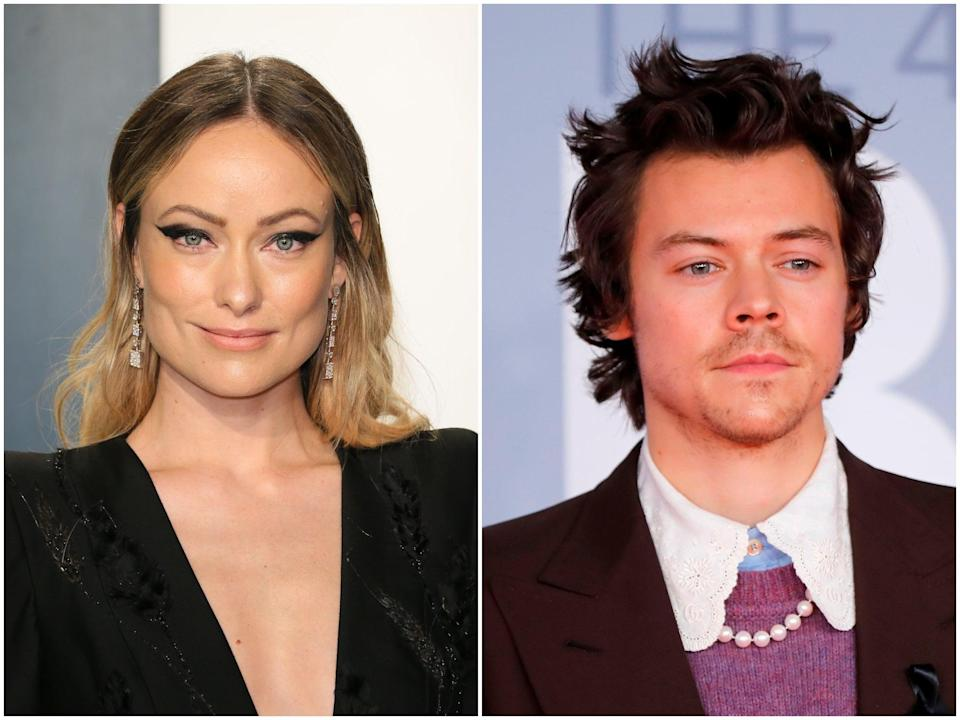 <p>Olivia Wilde / Harry Styles.</p> (Getty Images)