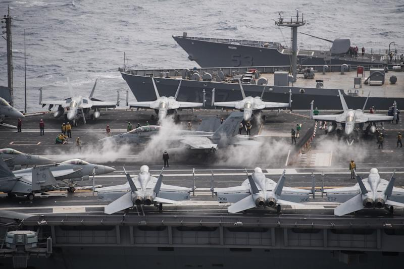 Navy Aircraft Carriers Might Just Be Unsinkable. Here's Why.