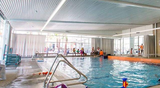 Auburn pool will close off one its three pools with curtains for two hours on Sunday afternoons. Source: Auburn Council