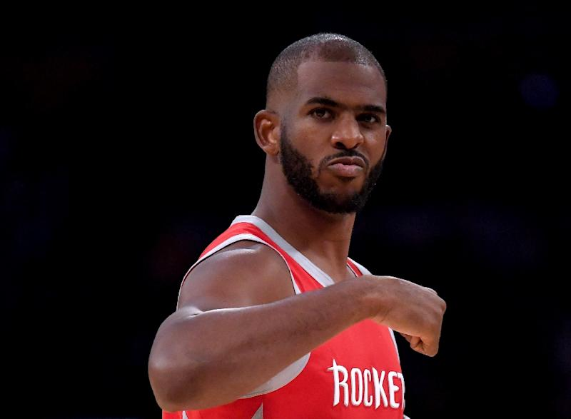 df9c3cd370 Houston Rockets point guard Chris Paul will be reevaluated in two weeks  after suffering a left