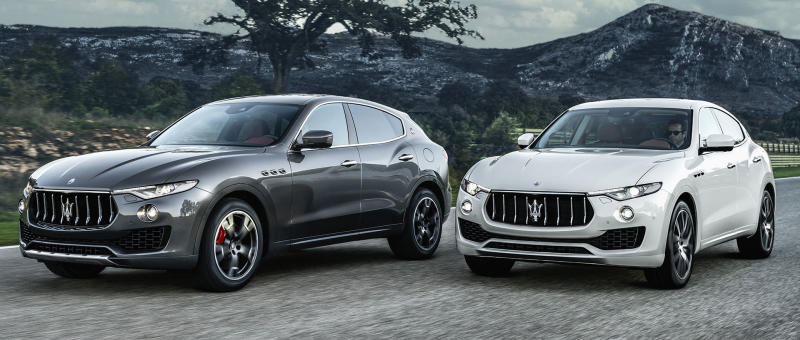 2017 maserati levante races into the premium suv market