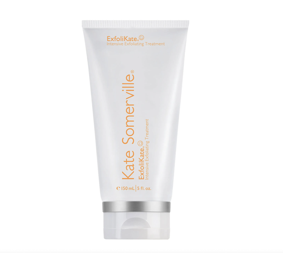 """<p><strong>Kate Somerville</strong></p><p>nordstrom.com</p><p><a href=""""https://go.redirectingat.com?id=74968X1596630&url=https%3A%2F%2Fwww.nordstrom.com%2Fs%2Fkate-somerville-exfolikate-intensive-exfoliating-treatment-212-50-value%2F3065426%3Forigin%3Dcategory-personalizedsort%26breadcrumb%3DHome%252FAnniversary%2BSale%252FWomen%252FBeauty%2BExclusives%26color%3D960&sref=https%3A%2F%2Fwww.harpersbazaar.com%2Fbeauty%2Fg36991550%2Fnordstrom-anniversary-sale-beauty-deals%2F"""" rel=""""nofollow noopener"""" target=""""_blank"""" data-ylk=""""slk:Shop Now"""" class=""""link rapid-noclick-resp"""">Shop Now</a></p><p><strong>Sale: $130</strong></p><p><strong>After Sale: $185</strong> </p><p><em>BAZAAR.com</em> spoke with legendary facialist Kate Somerville back in March about her <a href=""""https://www.harpersbazaar.com/beauty/skin-care/a35645001/meghan-markle-facialists-skincare-secrets/"""" rel=""""nofollow noopener"""" target=""""_blank"""" data-ylk=""""slk:five daily"""" class=""""link rapid-noclick-resp"""">five daily</a> skincare rituals. Somerville says she applies ExfoliKate after cleansing, lets it sit for two minutes, then gently pats on water. PS: Meghan Markle once wrote for <a href=""""https://www.harpersbazaar.com/beauty/skin-care/a35645001/meghan-markle-facialists-skincare-secrets/"""" rel=""""nofollow noopener"""" target=""""_blank"""" data-ylk=""""slk:The Tig"""" class=""""link rapid-noclick-resp""""><em>The Tig</em></a> that Kate Somerville's intensive exfoliating treatment """"will do the trick for that homegrown glow."""" </p>"""