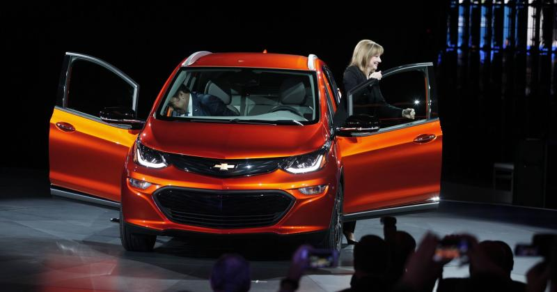 GM is going 'all-electric,' but it doesn't expect to make money off EVs until early next decade