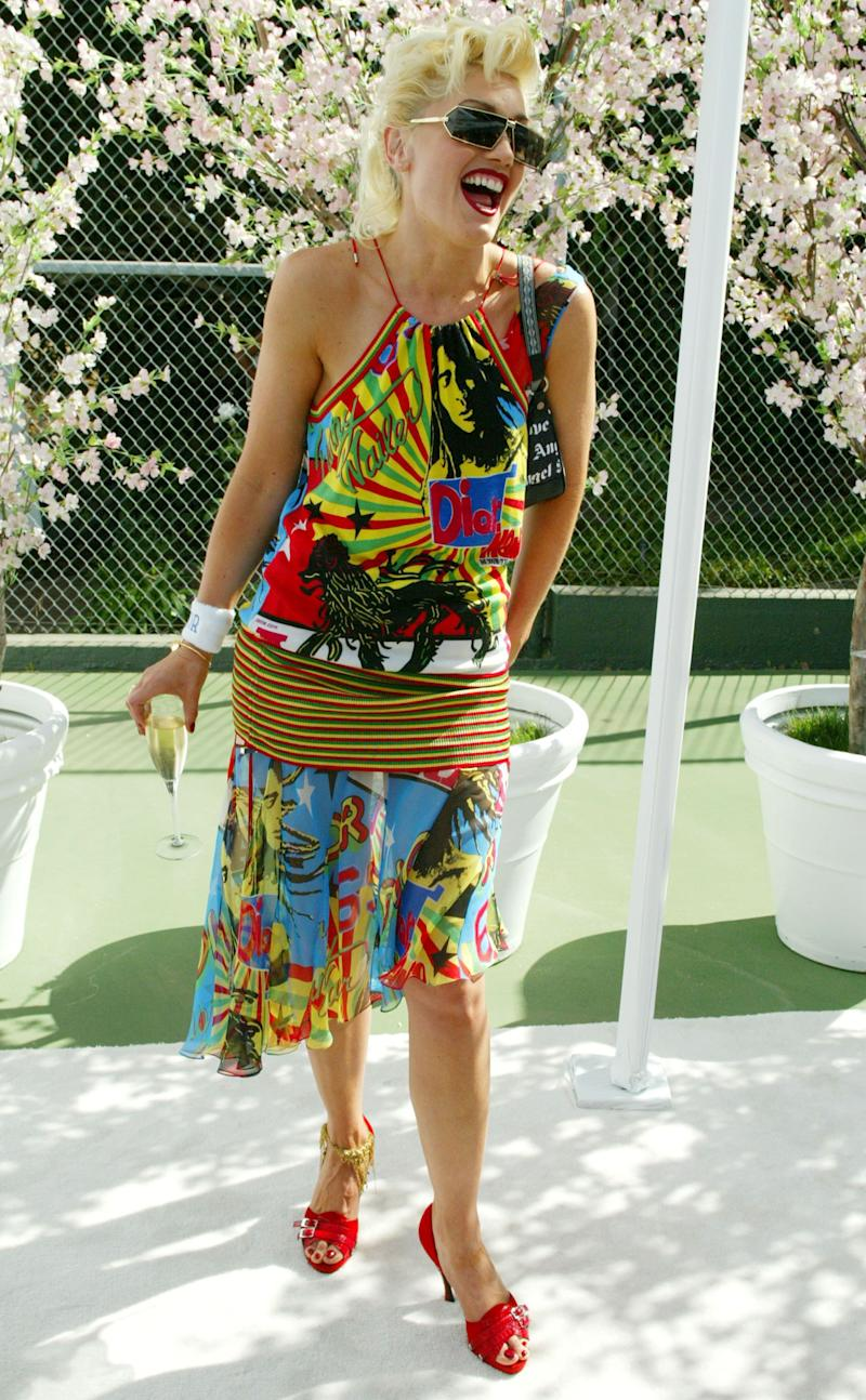 Wearing Dior during Dior Dance for Life to Benefit the Aaliyah Memorial Fund, in Bel Air, CA.