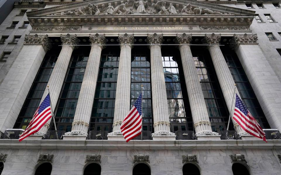 Wall Street is set for a boost from the surprise upturn in June US retail sales data - Seth Wenig/AP