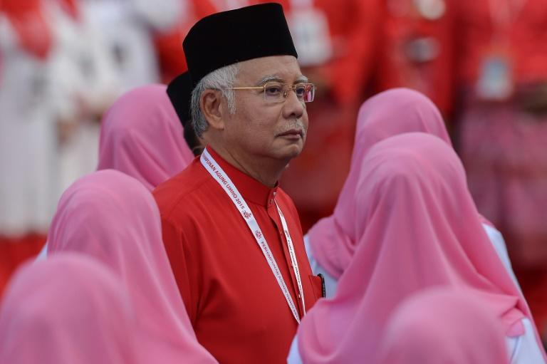 Malaysia's Prime Minister Najib Razak pictured in Kuala Lumpur on December 10, 2015, has sought to rally support amid the political funding scandal that has triggered calls for him to step down