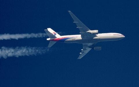 <span>A Malaysia Airlines Boeing 777 plane&nbsp;</span> <span>Credit: STRINGER </span>