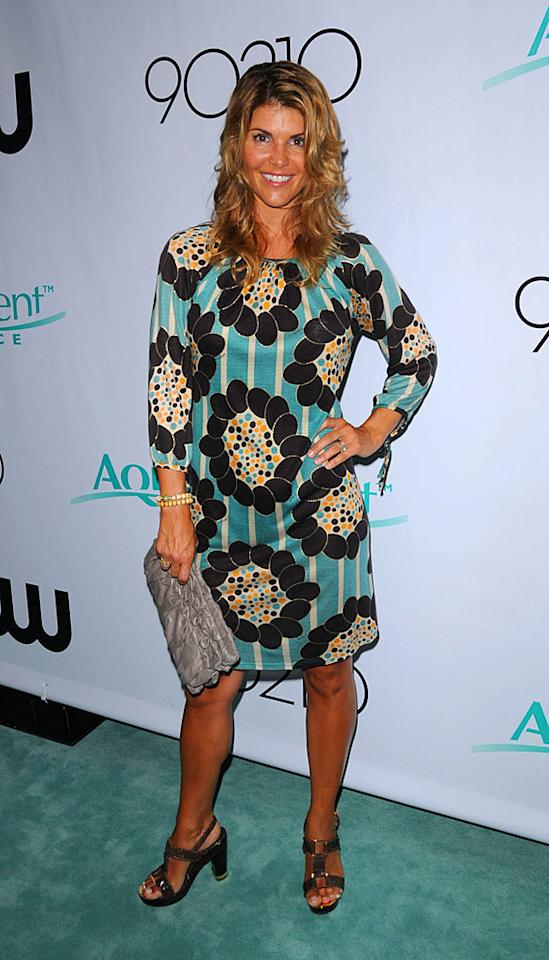 "Lori Loughlin has come a long way since playing Aunt Becky on ""Full House."" The 44-year-old star of the reincarnated ""90210"" is quite the fox! Curtis Leigh/<a href=""http://www.splashnewsonline.com"" target=""new"">Splash News</a> - August 24, 2008"