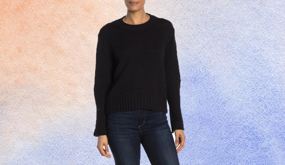 This sumptuous sweater is perfect for everyday. (Photo: Nordstrom Rack)
