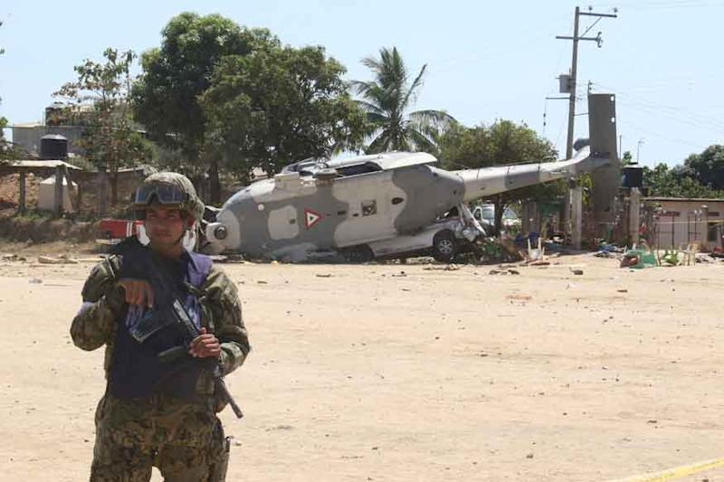 Military Helicopter on Earthquake Mission Flips in Mexico, Kills 13 on Ground