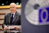 High Representative and vice-president of the European Commission Josep Borrell speaks at the EU Parliament in Brussels