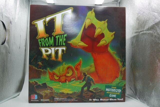 """<p>Speaking of random board games you don't remember existing but possibly owned, let's talk about It From the Pit. It's worth <a href=""""https://www.ebay.com/itm/Vintage-1992-Milton-Bradley-It-from-the-Pit-Board-Game-WORKING-100-Complete/254236535045?hash=item3b31ada905:g:WRwAAOSwO8Zc4WRL"""" rel=""""nofollow noopener"""" target=""""_blank"""" data-ylk=""""slk:$300"""" class=""""link rapid-noclick-resp"""">$300</a> so time to do a deep dive into your family game closet, ugh. </p>"""