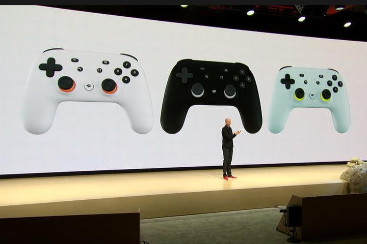 google unveils stadia streaming service gdc news stage