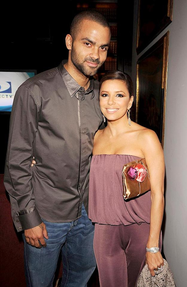 """As if things weren't bad enough with Tony Parker's escalating divorce battle with Eva Longoria, now <i>The Sun</i> reports the basketball star sent a series of sexy text messages to a teenage model after the two partied in London a month ago. For the dishy details about Parker's semi-nude flirtation with the teen, click over to <a href=""""http://www.gossipcop.com/sophia-egeler-text-messages-tony-parker-sexting-naked-picture-eva-longoria/"""" target=""""new""""> Gossip Cop</a>. George Pimentel/<a href=""""http://www.wireimage.com"""" target=""""new"""">WireImage.com</a> - May 2, 2009"""
