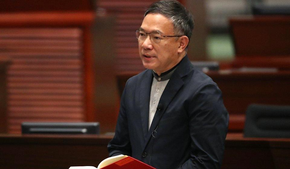 Lawmaker Paul Tse, chairman of Legco's Committee on Rules of Procedure. Photo: Edward Wong