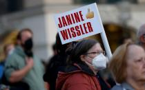 FILE PHOTO: Left wing party Die Linke campaigns in Munich