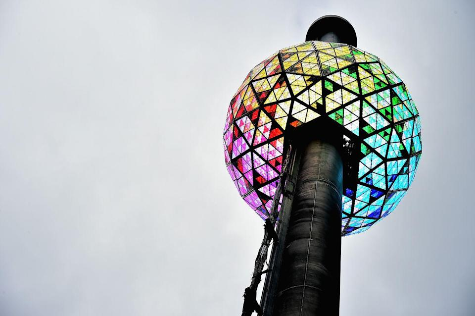 "<p>To encourage social distancing, the Times Square ball drop will go virtual this year. Fortunately, the event will still features performers and speakers, just like it has in years past. ""The world desperately needs to come together symbolically and virtually to celebrate the<br>people and things we love and to look forward with a sense of renewal and new beginnings,"" Tim Tompkins, president of the Times Square Alliance, said in a <a href=""https://www.timessquarenyc.org/sites/default/files/resources/PR-NYE2021-Virtual-Announcement-2020-09-23.pdf"" rel=""nofollow noopener"" target=""_blank"" data-ylk=""slk:press release"" class=""link rapid-noclick-resp"">press release</a> about the event. </p>"
