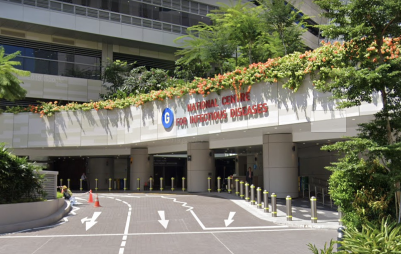 The National Centre for Infectious Diseases. (Photo from Google Streetview)