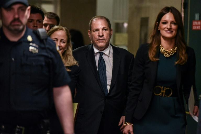 Harvey Weinstein enters the courthouse on July 11, 2019 in New York City