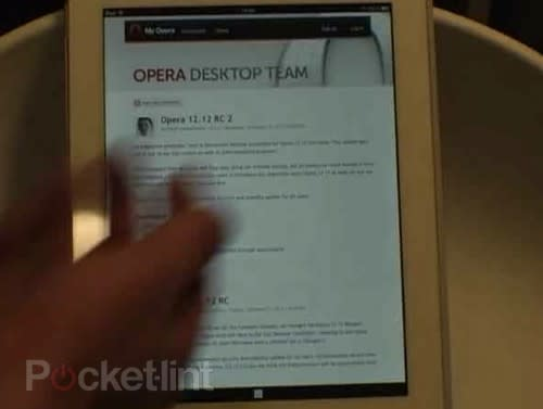 Opera Ice: New browser for Android and iPhone coming February uses WebKit (video)
