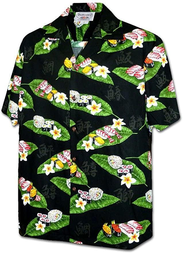 <p>The <span>Pacific Legend Sushi Men's 100% Cotton Hawaiian Shirt</span> ($35) might just be the ultimate dad gift, however it can be styled to look chic!</p>