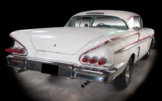1958 impala from american graffiti could sell for 1 million. Black Bedroom Furniture Sets. Home Design Ideas