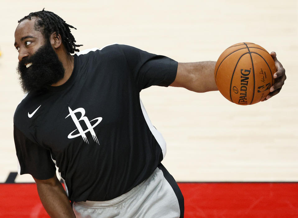 James Harden is headed to the Brooklyn Nets. (Photo by Steph Chambers/Getty Images)