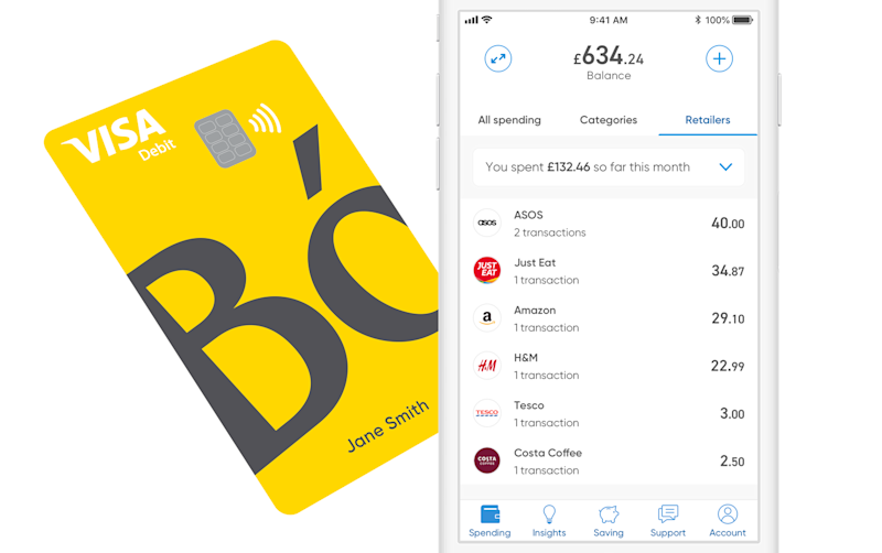 The Bo app and card. Photo: Royal Bank of Scotland