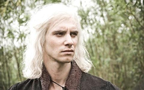 Viserys Tragaryen, brother of Daenerys, on Game of Thrones - Credit: HBO